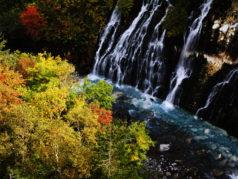 しらひげの滝9月下旬